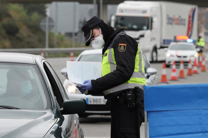Control fronterizo durante la pandemia