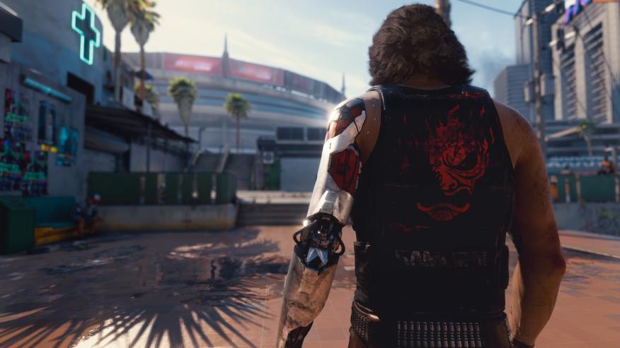 Johnny Silverhand en Cyberpunk 2077