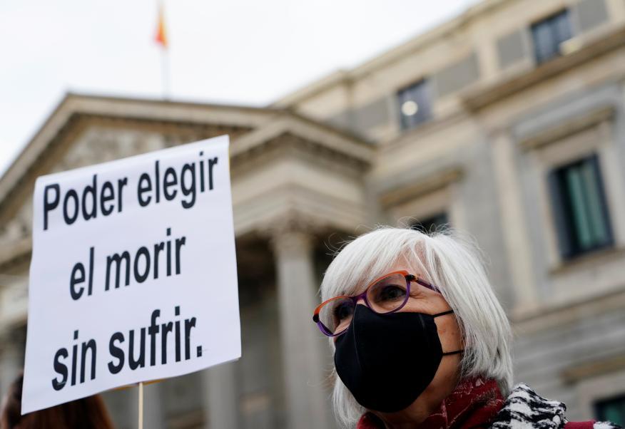 Ley de eutanasia en España
