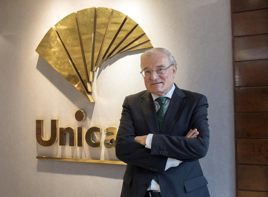 Manuel Azuaga, presidente de Unicaja.