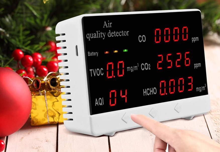 medidor de aire portatil