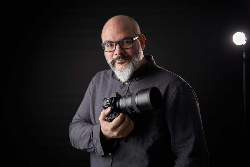 Pablo Gil es un fotógrafo gastronómico especializado en dar sabor a las fotos.