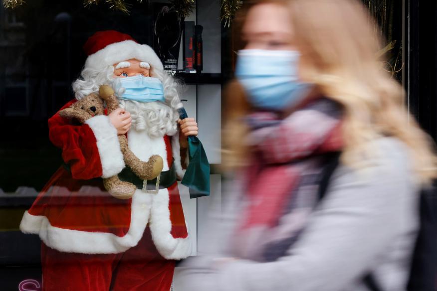 Papá Noel en el año del coronavirus