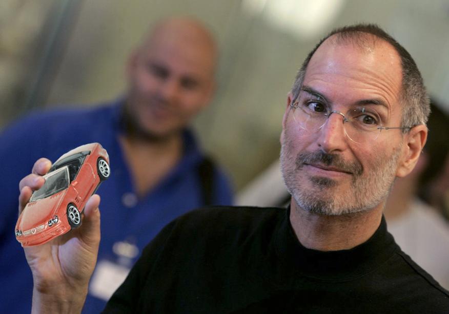 Steve Jobs cambiaba siempre de coche