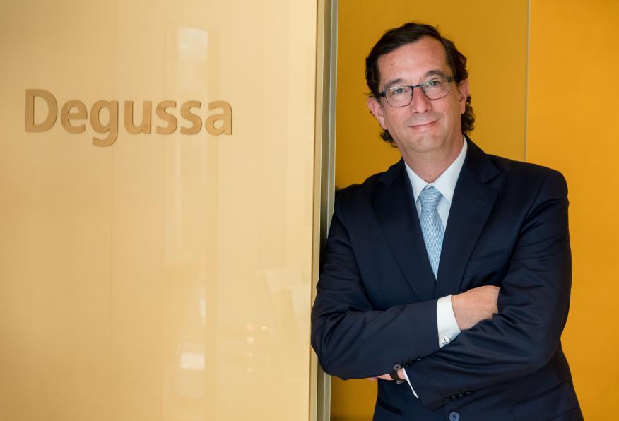 Tomás Epeldegui, director de Degussa en España.