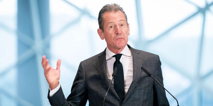 Mathias Döpfner, CEO de Axel Springer SE.