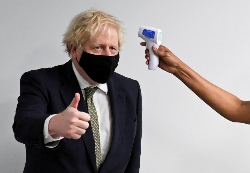 Boris Johnson, primer ministro de Reino Unido.