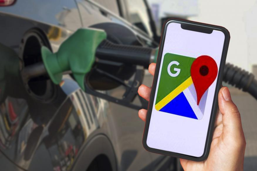 Gasolineras en Google Maps