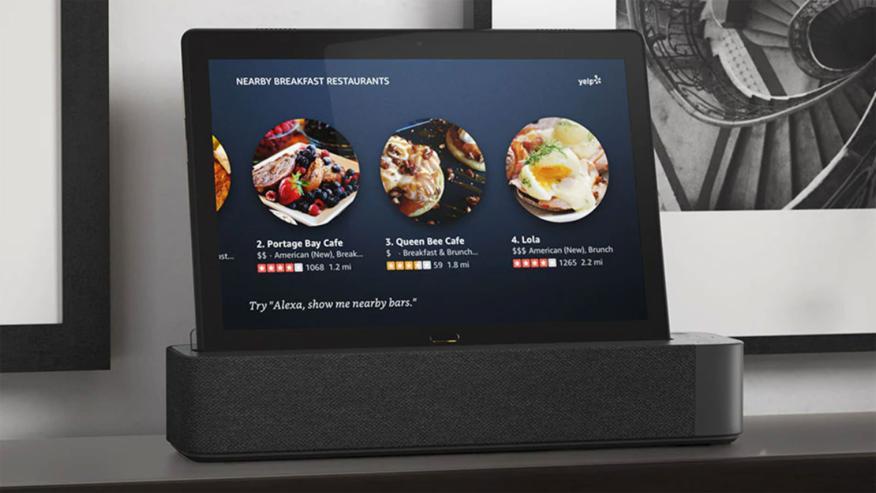 Lenovo Smart Tab M10 con Alexa Smart Dock