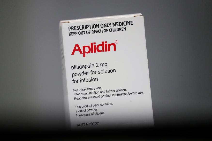 La plitidepsina: el compuesto de PharmaMar que puede disminuir el 99% de las cargas virales del COVID-19