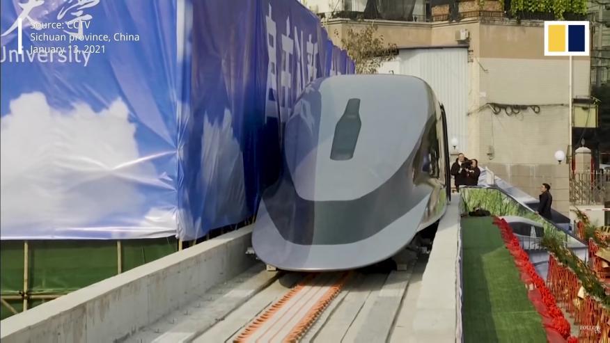 Tren magnético China