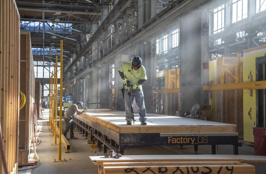 Casas prefabricadas de Factory_OS