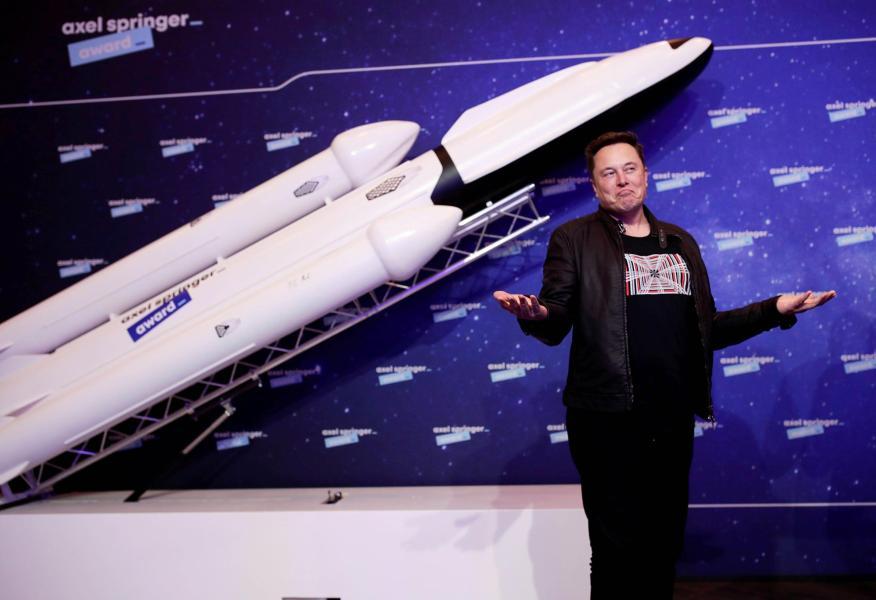 Elon Musk, CEO de SpaceX.