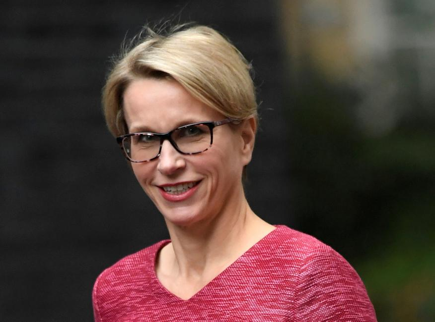 Emma Walmsley, CEO de GSK.