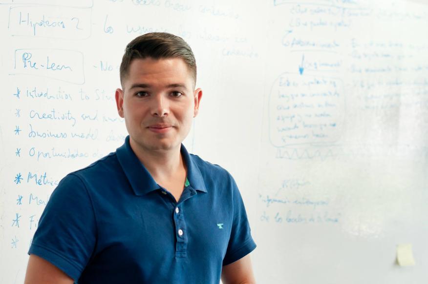 Juan Castillo, CEO de GuruWalk