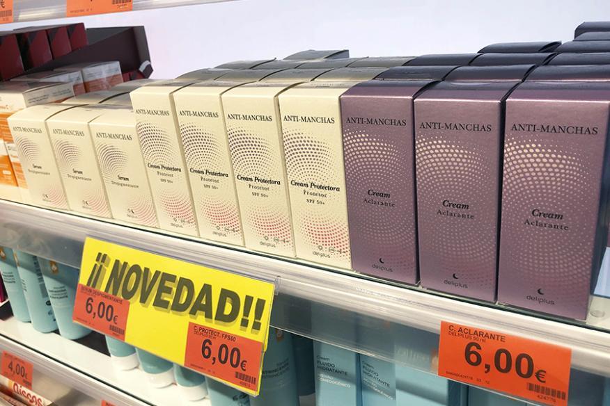 Mercadona lanza una nueva línea de tratamiento para las manchas en la piel