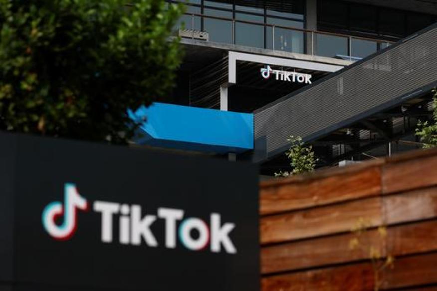 Oficina central de TikTok en California.