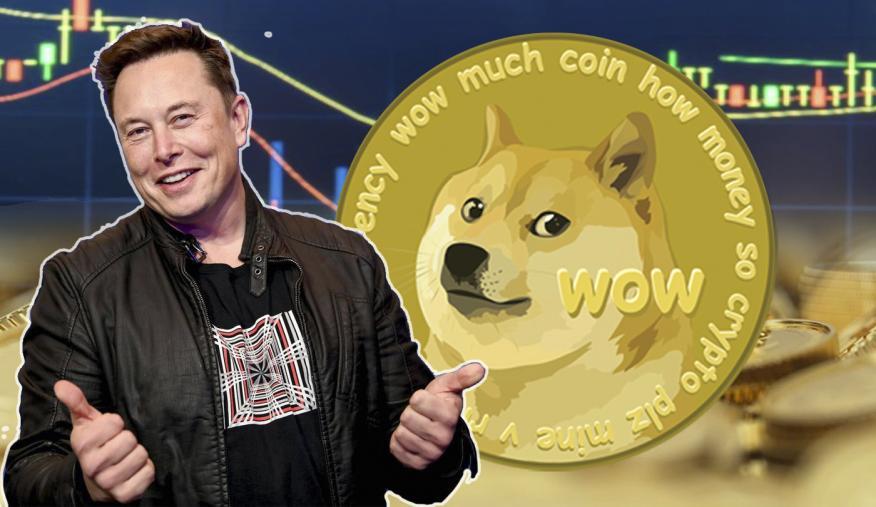 Precio de Dogecoin inflado por Elon Musk