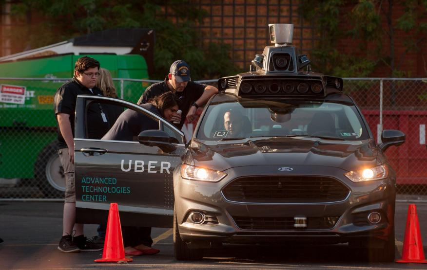Uber launched its own self-driving team in 2015.