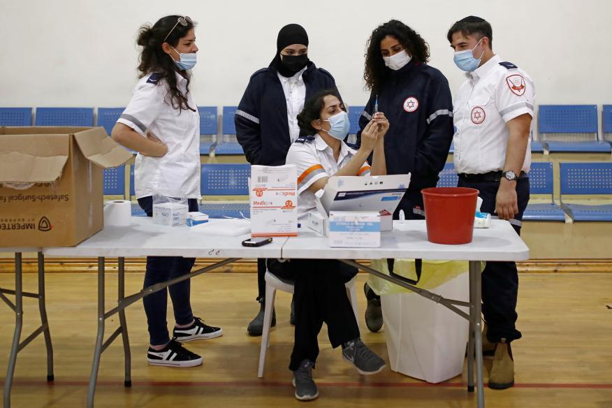 Vacunación contra el coroanvirus en Israel
