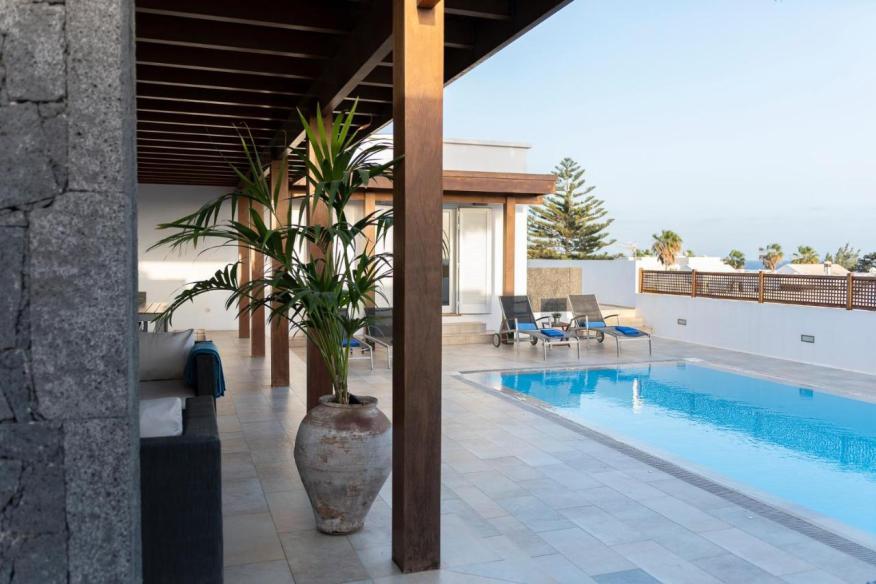 Airbnb con piscina