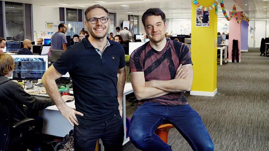 Dave Bailey y Paul Croft, fundadores de Mediatonic.