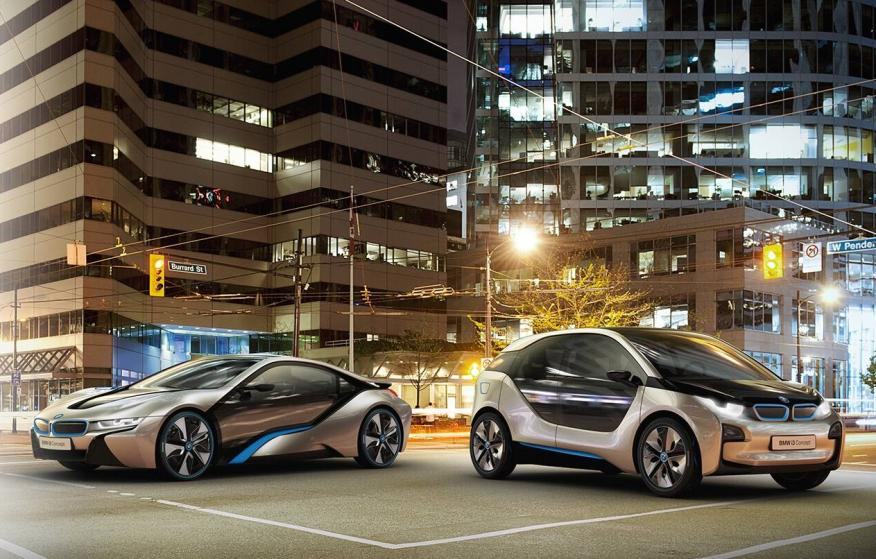 BMW i concept visión de futuro