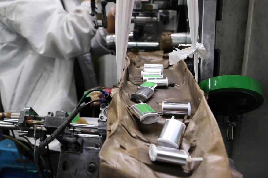 Fabricación de baterías de litio