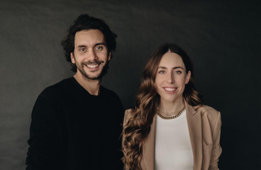 Los fundadores de Passporter, Diego Rodríguez (CEO) y Andrea Cayon (COO).