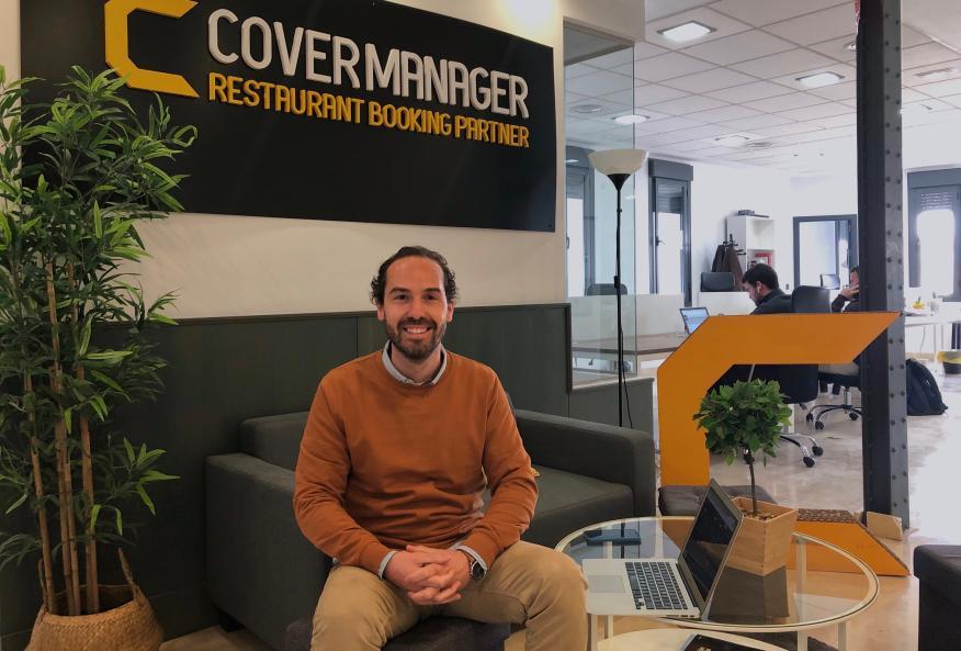 José Antonio Pérez, cofundador y CEO de CoverManager.