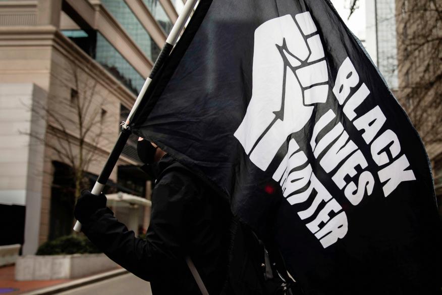 Protesta contra el racismo en Portland (Reuters)