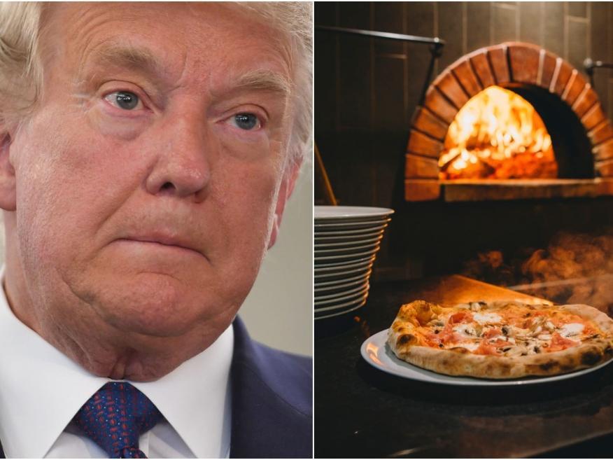 La Administración Trump incluyó por error a dos empresas italianas, entre ellas una pizzería, en una lista de sanciones.