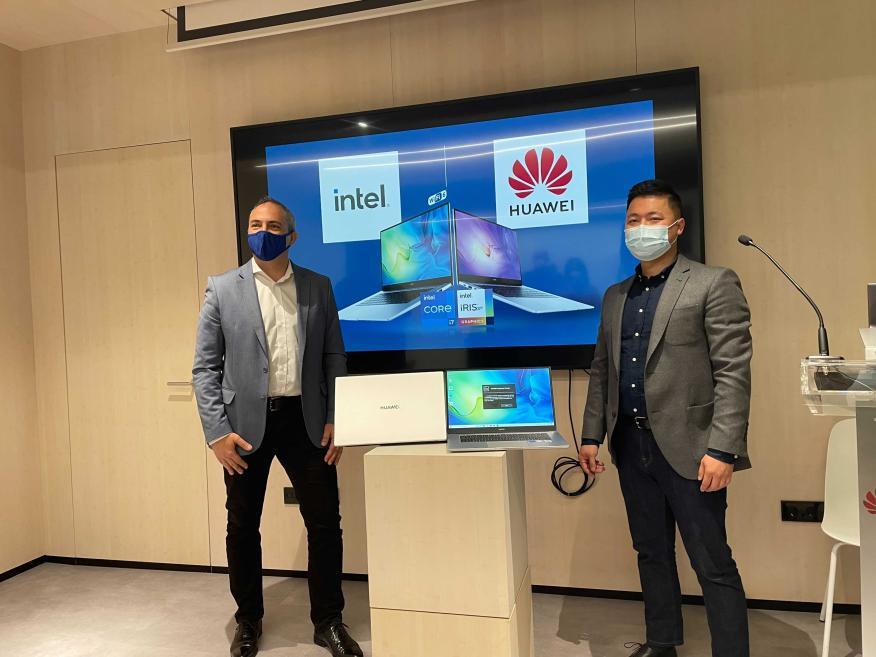 Huawei e Intel presentan el Matebook D15