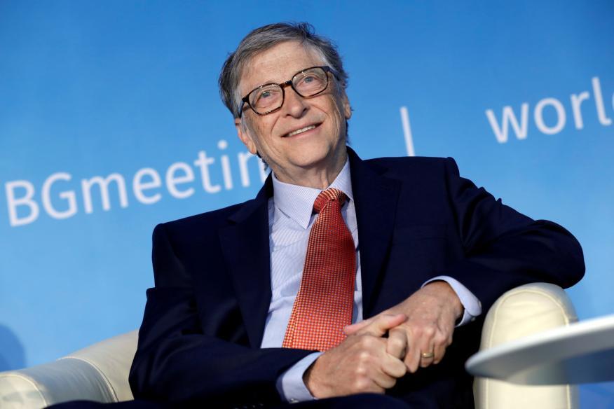 Bill Gates en una conferencia