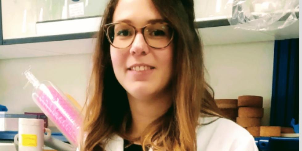 Iris Alicia Bermejo, investigadora española de una vacuna contra el cáncer.