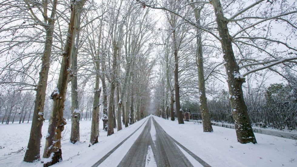 Carreteras con nieve